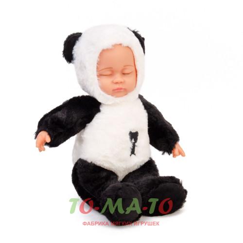 Мягкая игрушка Кукла Панда DL103002007W/BK