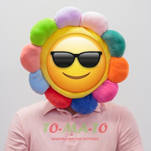 Мягкая игрушка шапка Цветочек DL203606610