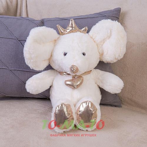 Мягкая игрушка Мышка с короной DL204005620W