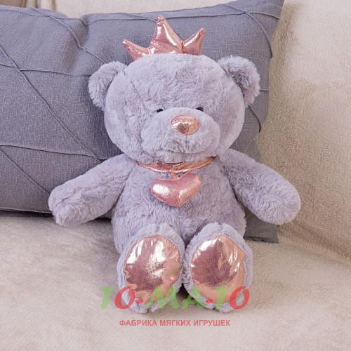 Мягкая игрушка Мишка с короной DL204007319GR