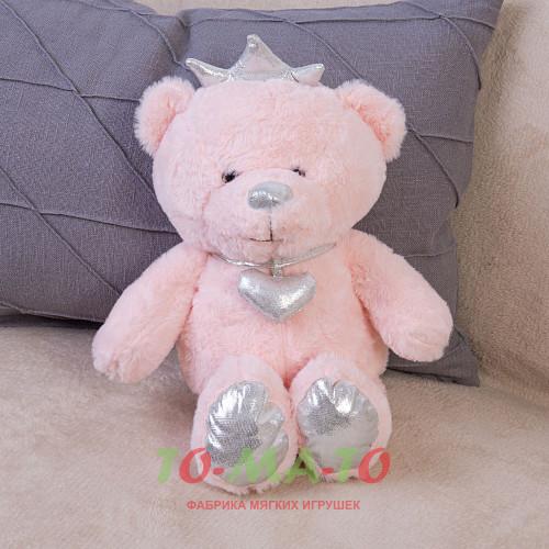 Мягкая игрушка Медведь с короной DL204007320P