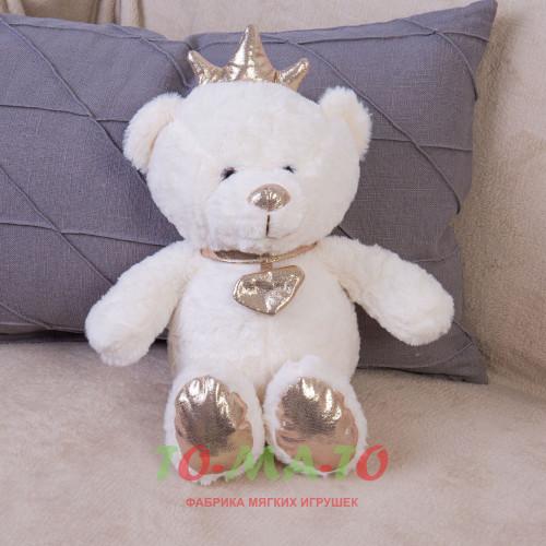 Мягкая игрушка Мишка с короной DL204007319W