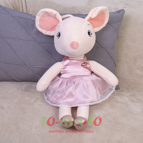 Мягкая игрушка Мышка DL205205613P