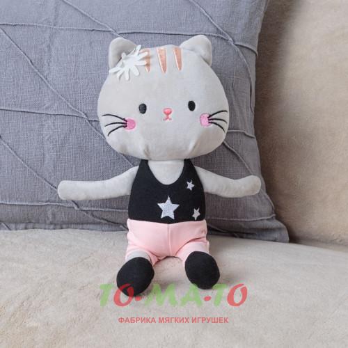 Мягкая игрушка Кошка JR405811013GR