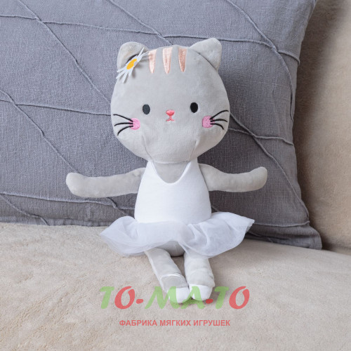 Мягкая игрушка Кошка JR405811006GR