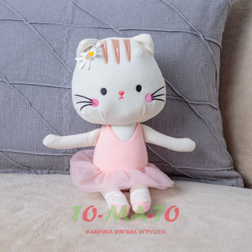 Мягкая игрушка Кошка JR403811004Y