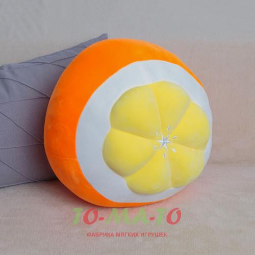 Мягкая игрушка Подушка Апельсин LH303709711P