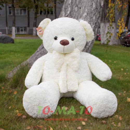 Большая мягкая игрушка медведь 160 сантиметров в высоту
