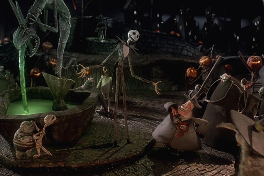Кадр из мультфильма Кошмар перед Рождеством