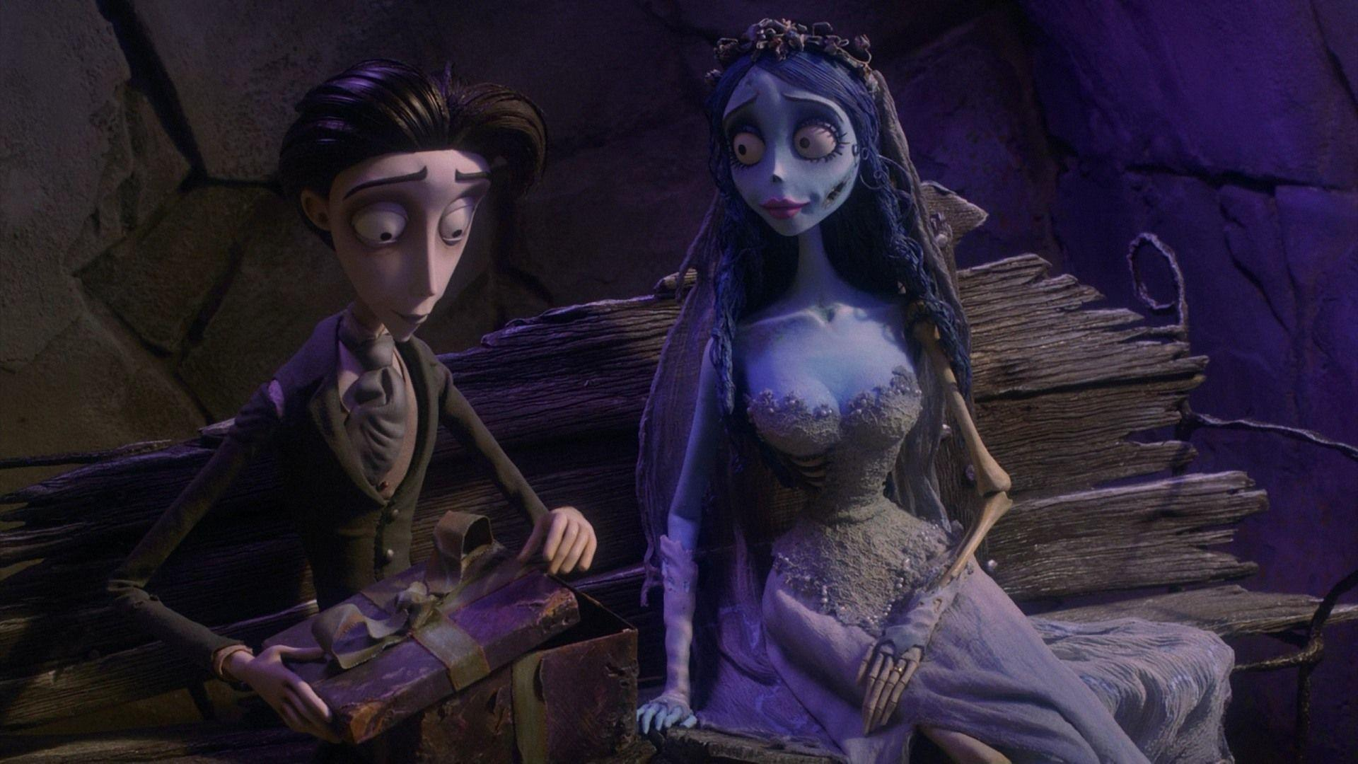 Кадр из мультфильма Труп невесты
